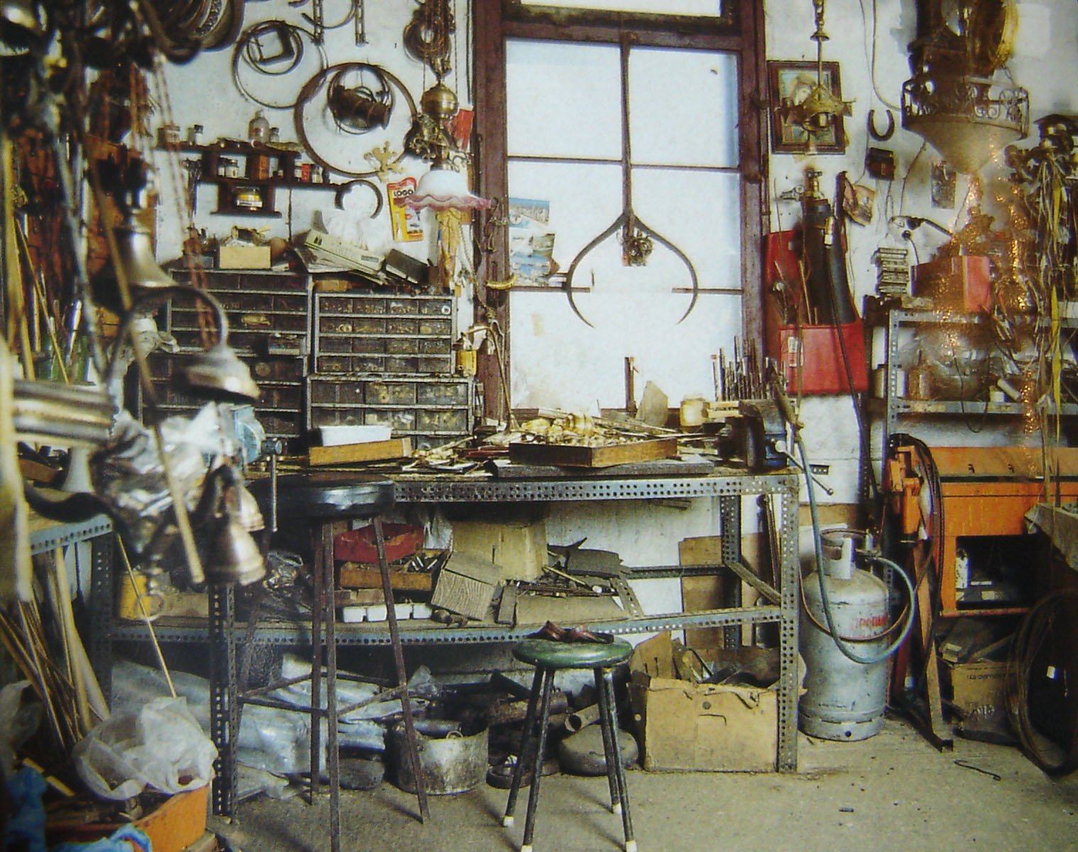 A place from the past: The workshop of Anestis.